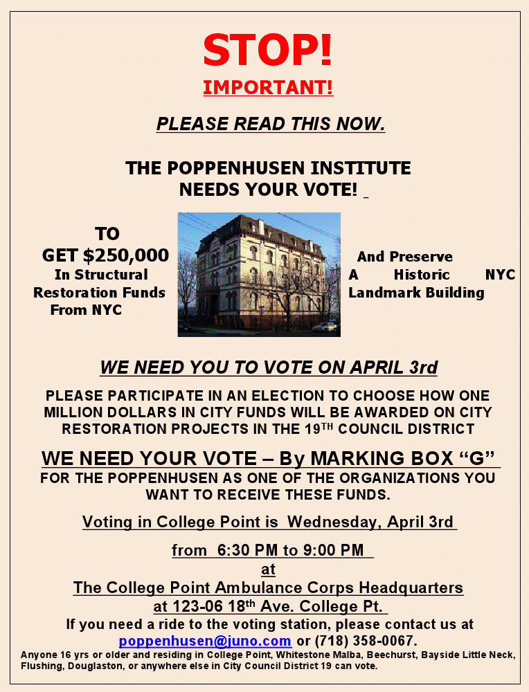 Vote for Popps - 1