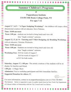Summer Children's Programs 2013 -0001