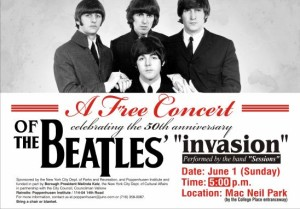 Beatles 5pm flyer