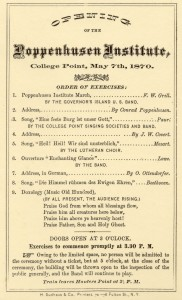 PI Opening Ceremony Program 1870