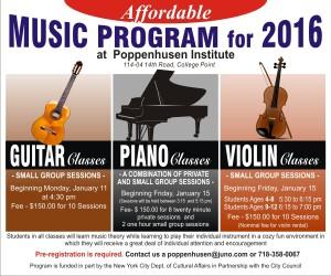 Affordable Music Program