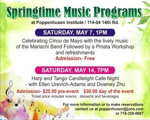 upcoming music programs