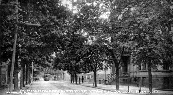 Early Scene of poppenhusen Institute